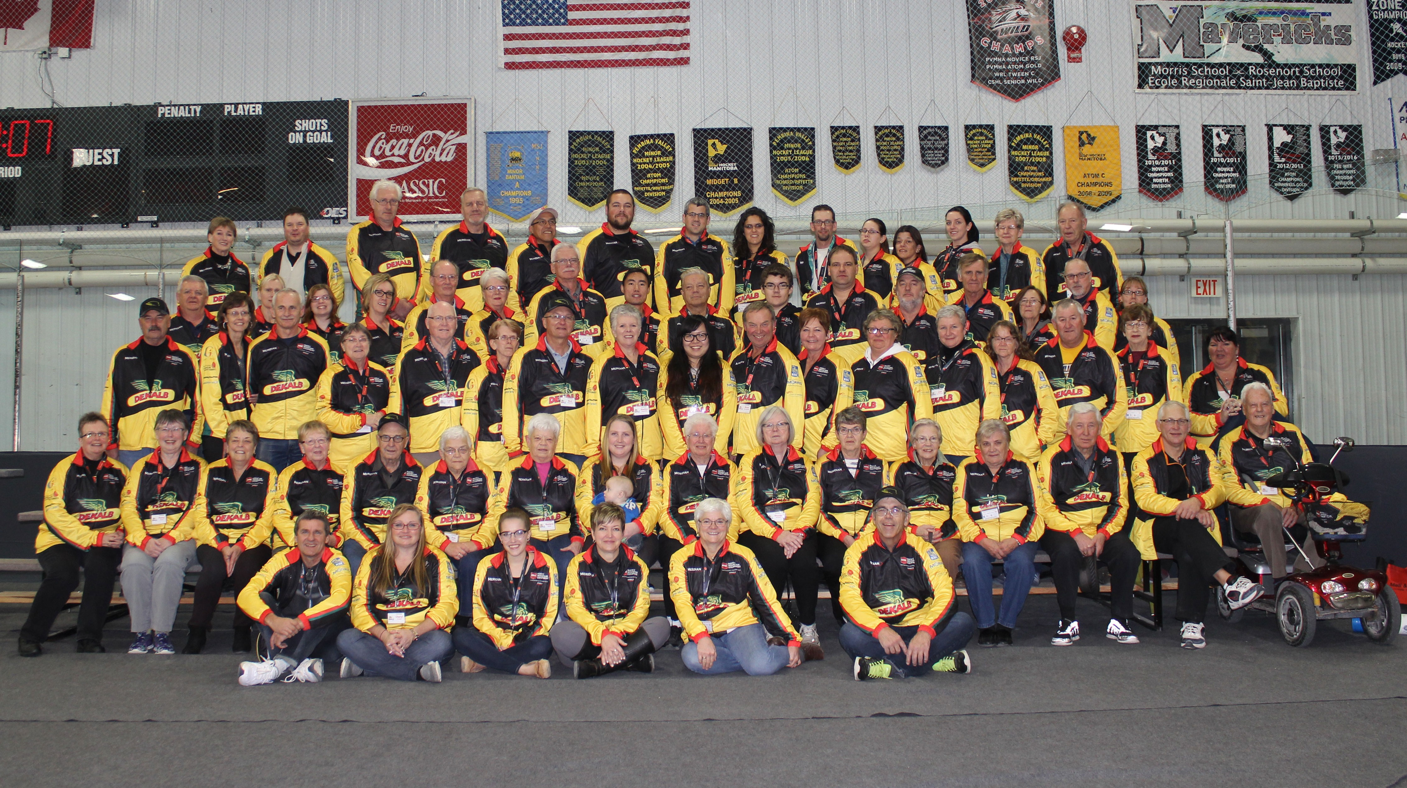 Dekalb SuperSpiel Volunteers